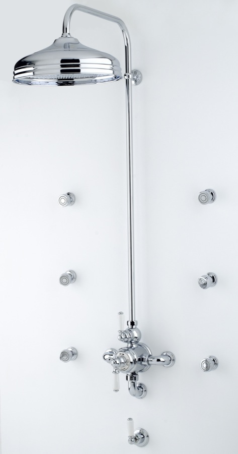 Perrin & Rowe's wide and varied product portfolio includes kitchen taps, bath and basin brassware, bathroom accessories and bathroom chinaware.